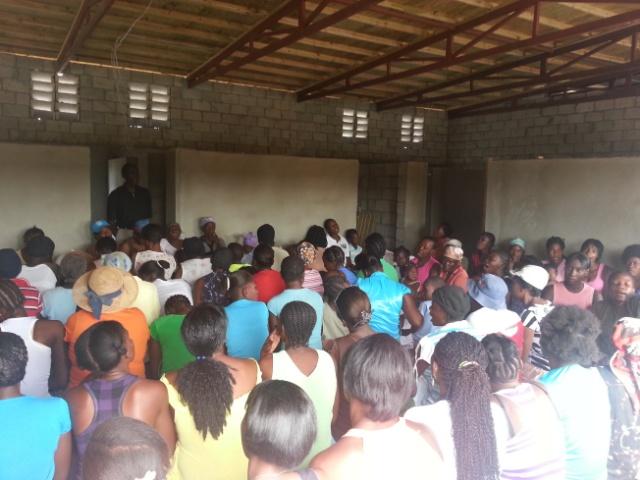 HAITI – Thursday 3/7/13
