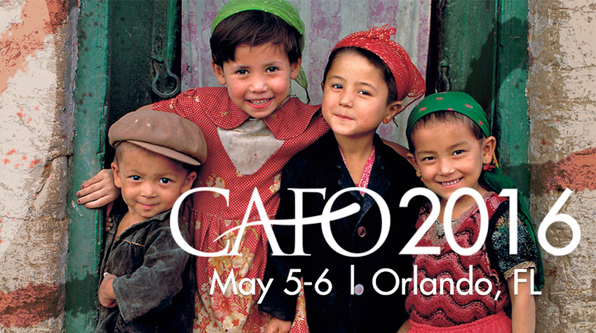 Join us for CAFO Summit 2016 to be inspired and equipped to care for orphans!