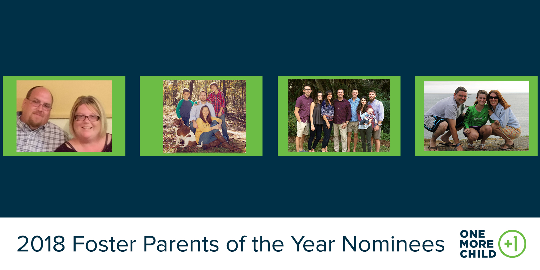 2018 Foster Parents of the Year Nominees (Pt. 1)