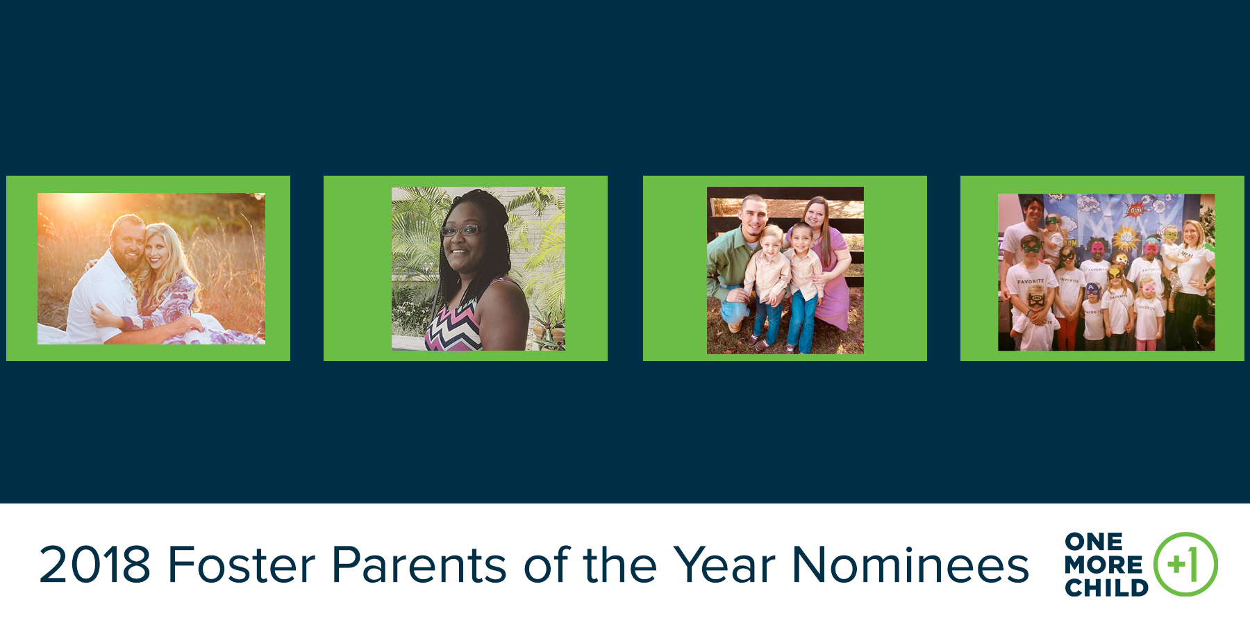 2018 Foster Parents of the Year Nominees (Pt. 2)