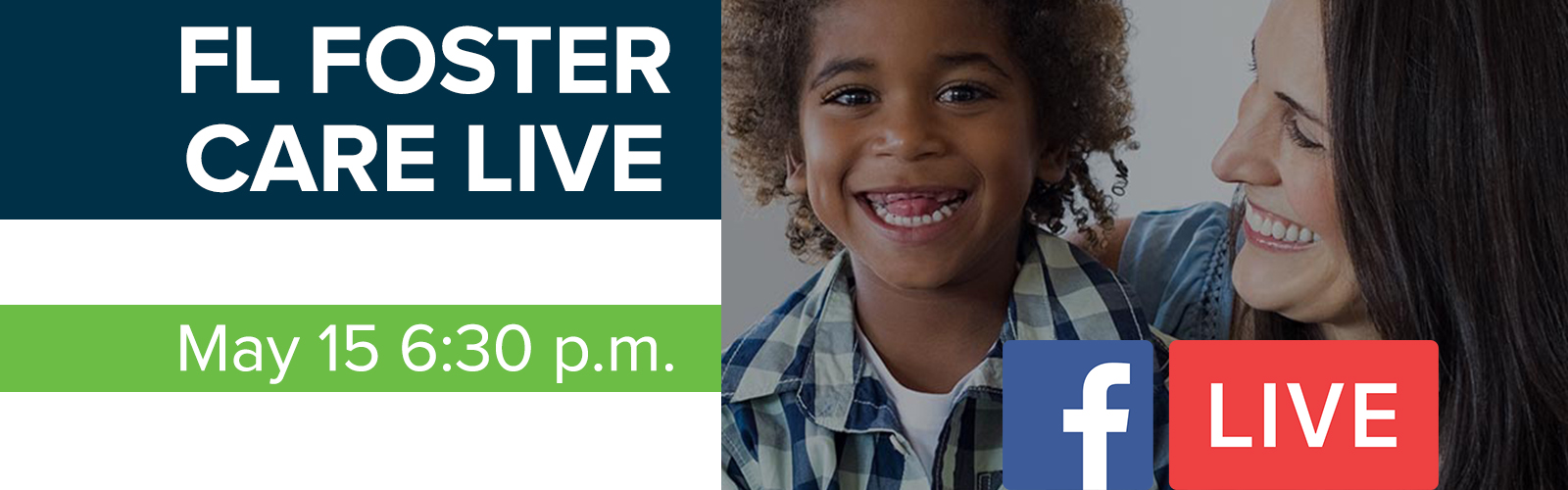 Your next step toward foster care? Facebook Live on May 15