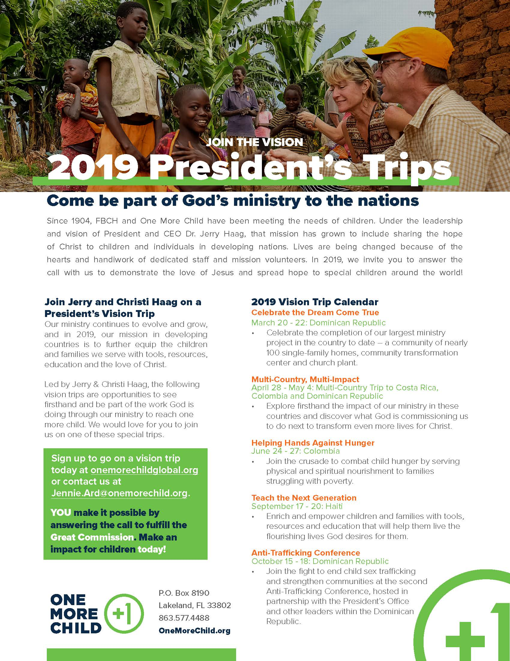President's Trip: Anti- Trafficking Conference (DR-Oct-15-2019